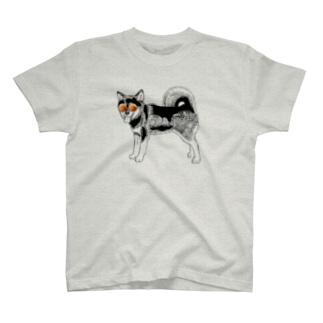 グラサン黒柴 T-shirts
