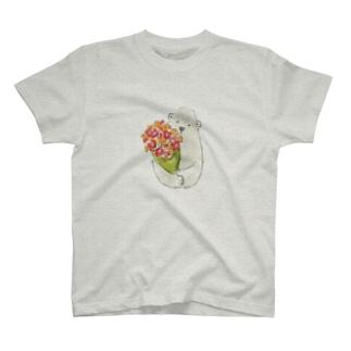 花が君に会いたがっている Tシャツ