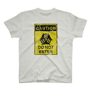 CAUTION DO NOT ENTER T-shirts