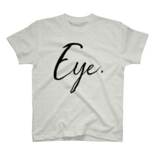 Eye.suzuri Black T-shirts