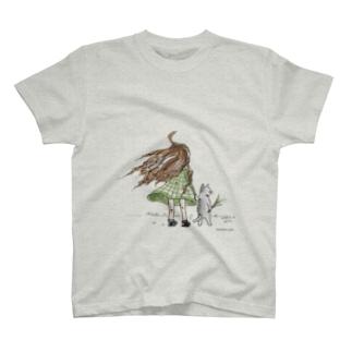 ねこじゃらし T-shirts