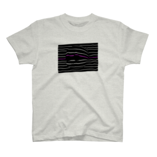rucochanmanのanonchan wave T-shirt T-shirts