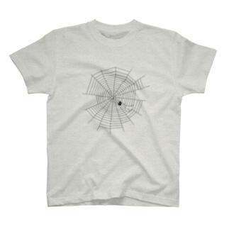 くもの巣 T-shirts