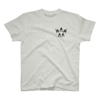京都カラスマ大学の放課後食堂プティ T-shirts