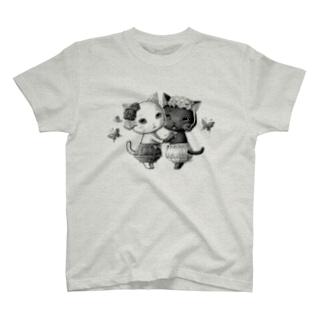 ねこどろわーず T-shirts