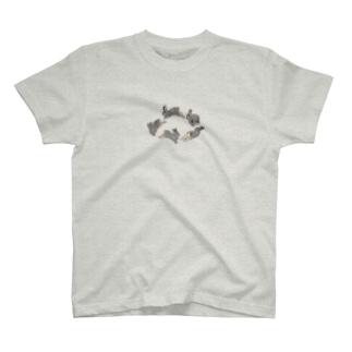 走り回る君が好き T-shirts