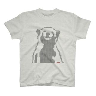 Polar bear 星ドットベア T-shirts