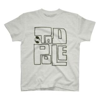 TADPOLE(淡色) T-shirts