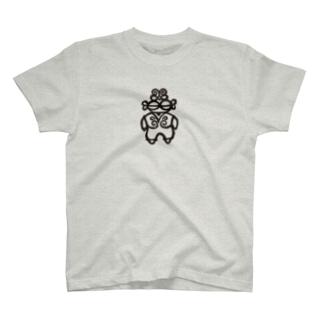 ホツTの黒い子 T-shirts