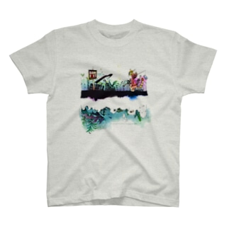 七色の惑星Tシャツ T-shirts
