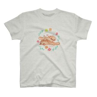 さらまんだーとオオサンショウウオ T-shirts