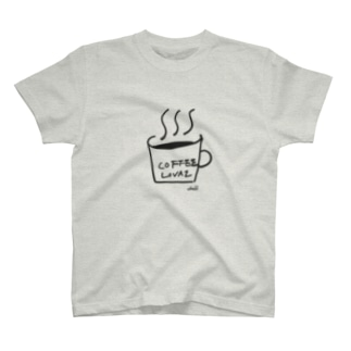 Coffee Lovaz グッズ(大プリント) T-shirts