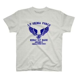kikai.base.bl T-shirts