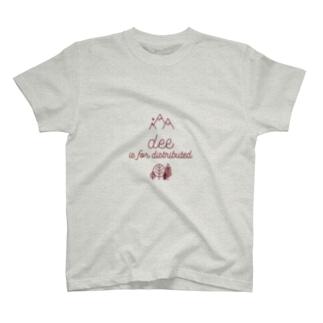ブは分散のブ T-shirts