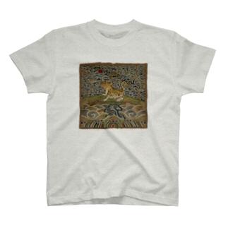 METの補子Tシャツ3-武官四品(虎) T-shirts