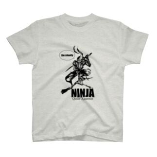 ガイコツ忍者くん T-shirts