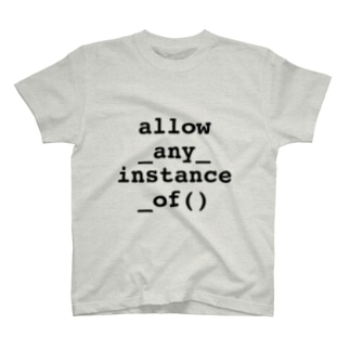 allow_any_instance_of T-shirts