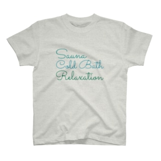 Saunagirl/サウナガールのSauna ColdBath Relaxation  T-shirts