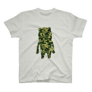 シルエット(迷彩) T-shirts