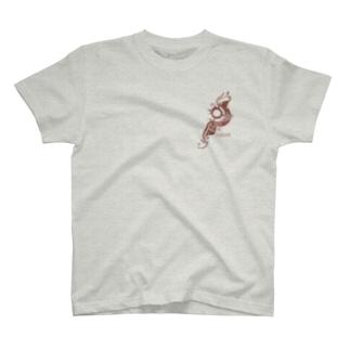 月と太陽 T-shirts