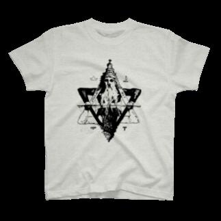 隠世闇標魔導具店の「汝、水面に映えし闇と結べ」 T-shirts