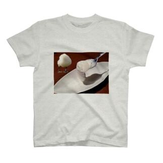 アイスとトリ T-shirts