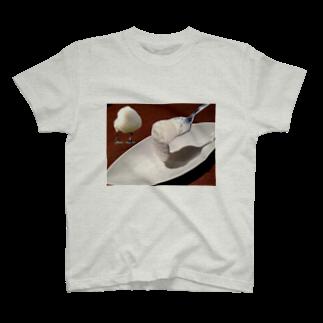 ふぶき氏のアイスとトリ T-shirts