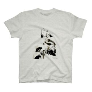朝顔 T-shirts