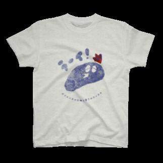 ねこのTシャツやさんのオリエンタルな味と香りのライチキ T-shirts
