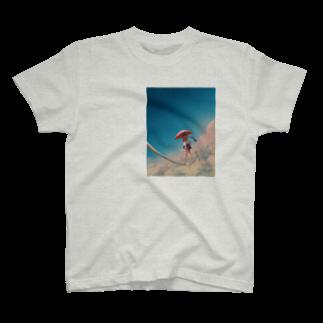 watabokuのサヨナラが聞こえる T-shirts