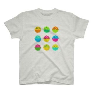 Onipico_れんけつたちのふく T-shirts