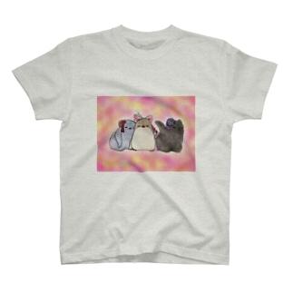 たのしいヒナまつり T-shirts