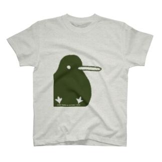 でっかいキキちゃん(淡色用) Tシャツ