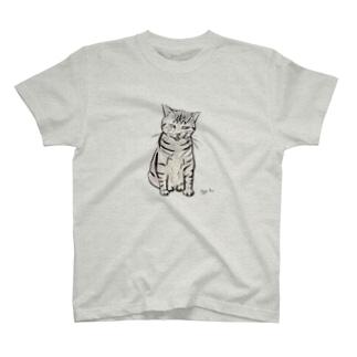 寝ぼすけニコちゃん T-shirts