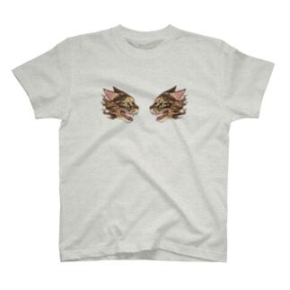 スカジャン風おもち T-shirts