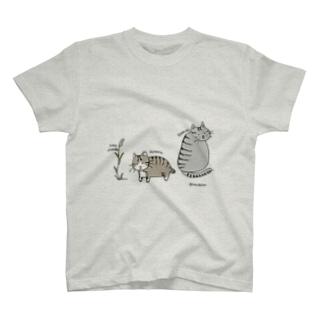 ほたるとしょうきち Tシャツ