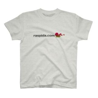 ラズパイダのURLロゴP-1 T-shirts