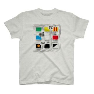 Motorsports FLAGs Tシャツ