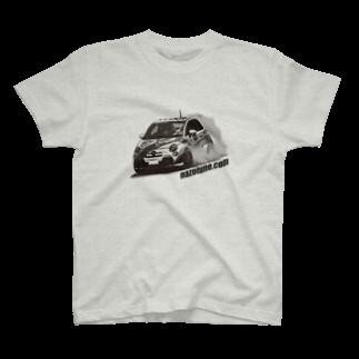 ZEUSJAPANのアバルトさん T-shirts