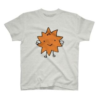 ししさん 色つき 獅子座グッズ T-shirts