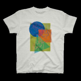 おつかれさまですのpaper,rock,scissors T-shirts