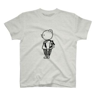 おでかけクマさん T-shirts
