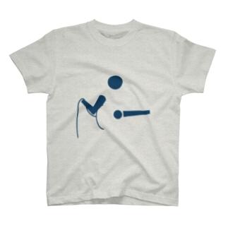 No sound【音が出ない】 Musictogram04 T-shirts