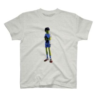 地球外生命体みたいでかわいいね T-shirts