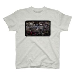 もっとサイバーなAKIBAメインテナンス T-shirts