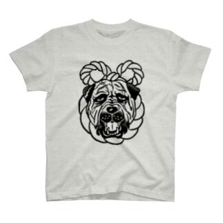 土佐犬 T-shirts