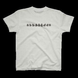 どんぐり商店のぐるぐるホーランドロップちゃん T-shirts