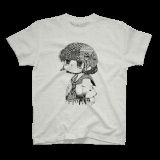 う           いのおんなのこ T-shirts