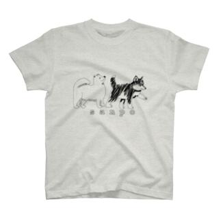 犬の散歩 T-shirts