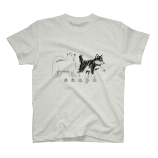 腕頭骨の犬の散歩 T-shirts